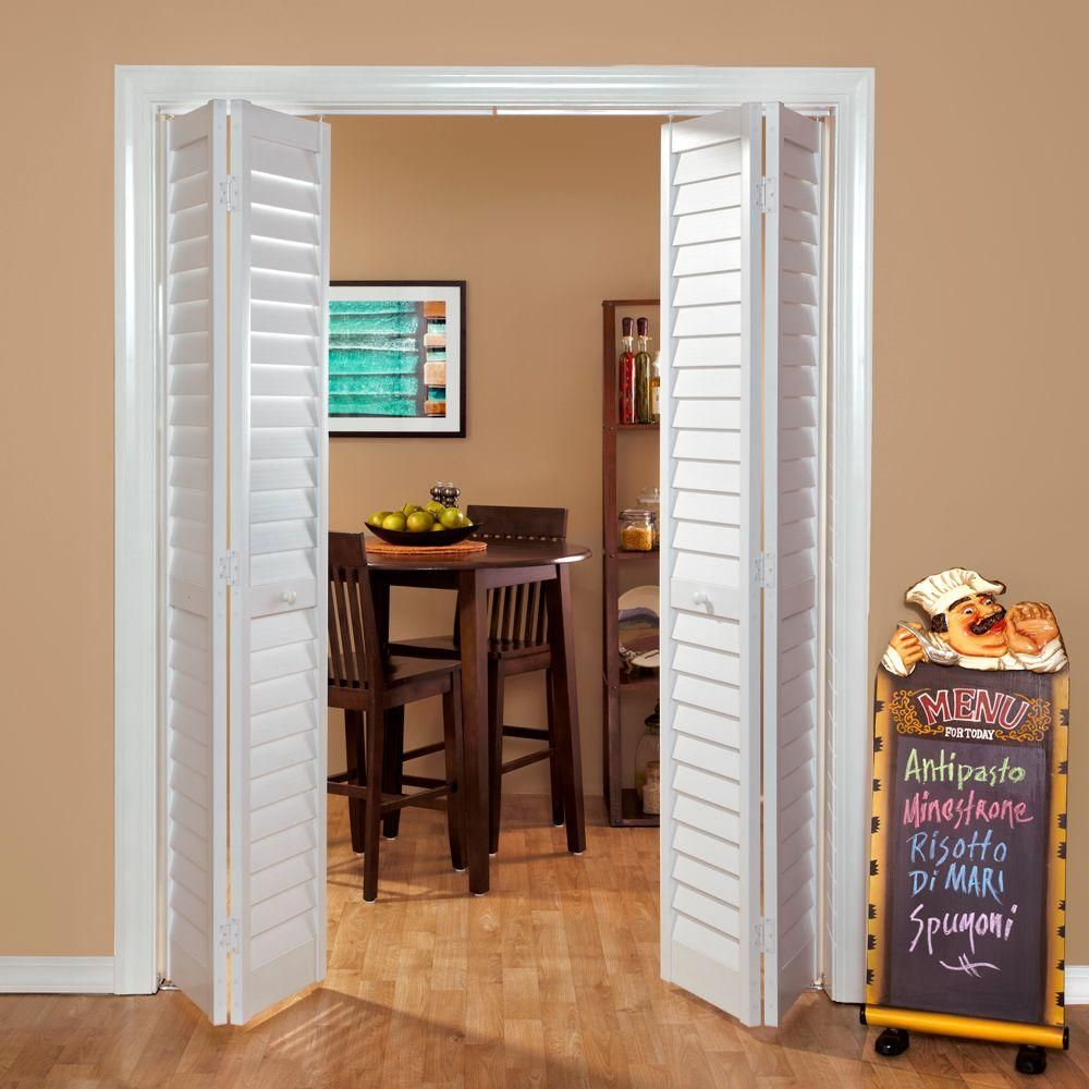Home Fashion Technologies 28 In X 80 In 3 In Louverlouver White