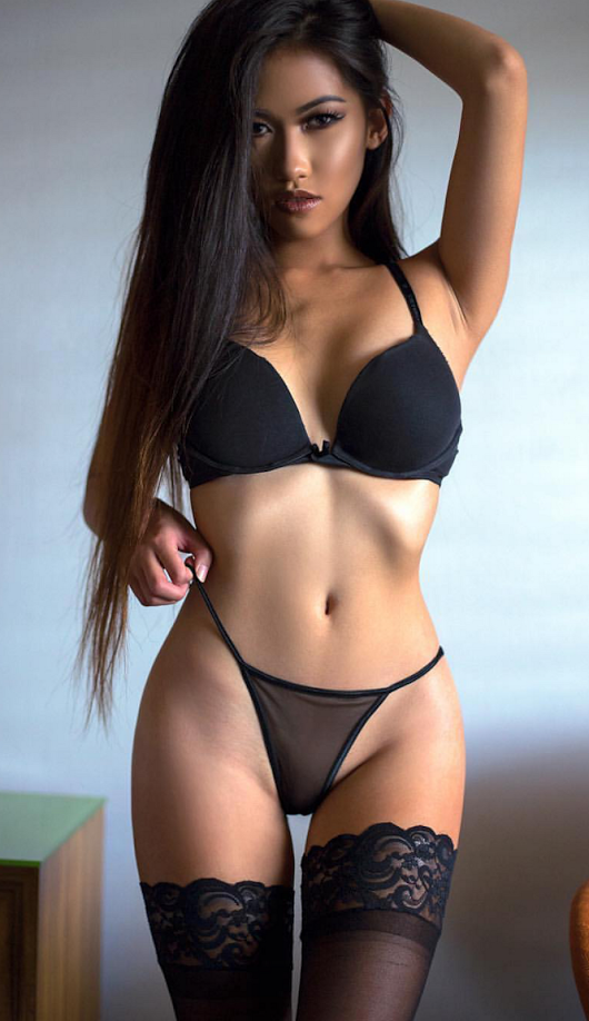 asian Hot girl athletic