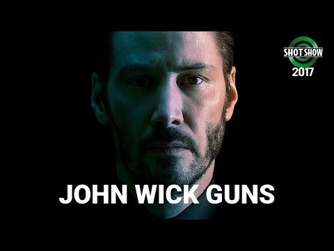 Lou Ferrigno &Taran Butler talk about the guns used in hit film John Wick🔫