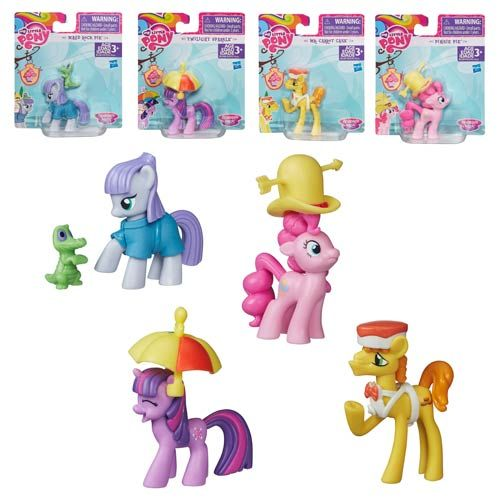 My Little Pony Friendship Is Magic Story Figures Wave 1 Set My Little Pony Collection My Little Pony Friendship Hasbro My Little Pony