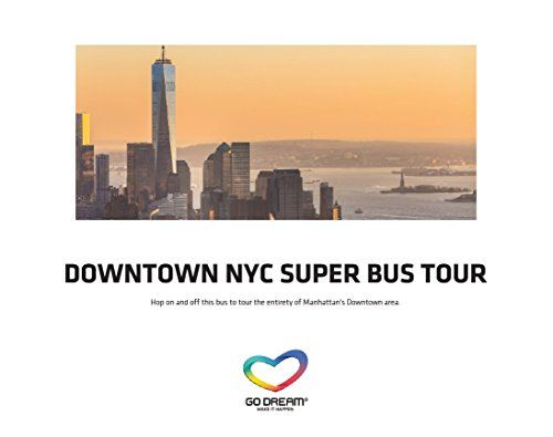 Super Bus Tour Bus Pass Downtown New York Experience Gift Card NYC ...