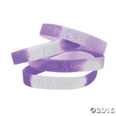 Fundraising For A Cause Child Gold Ribbon Awareness Silicone Bracelet