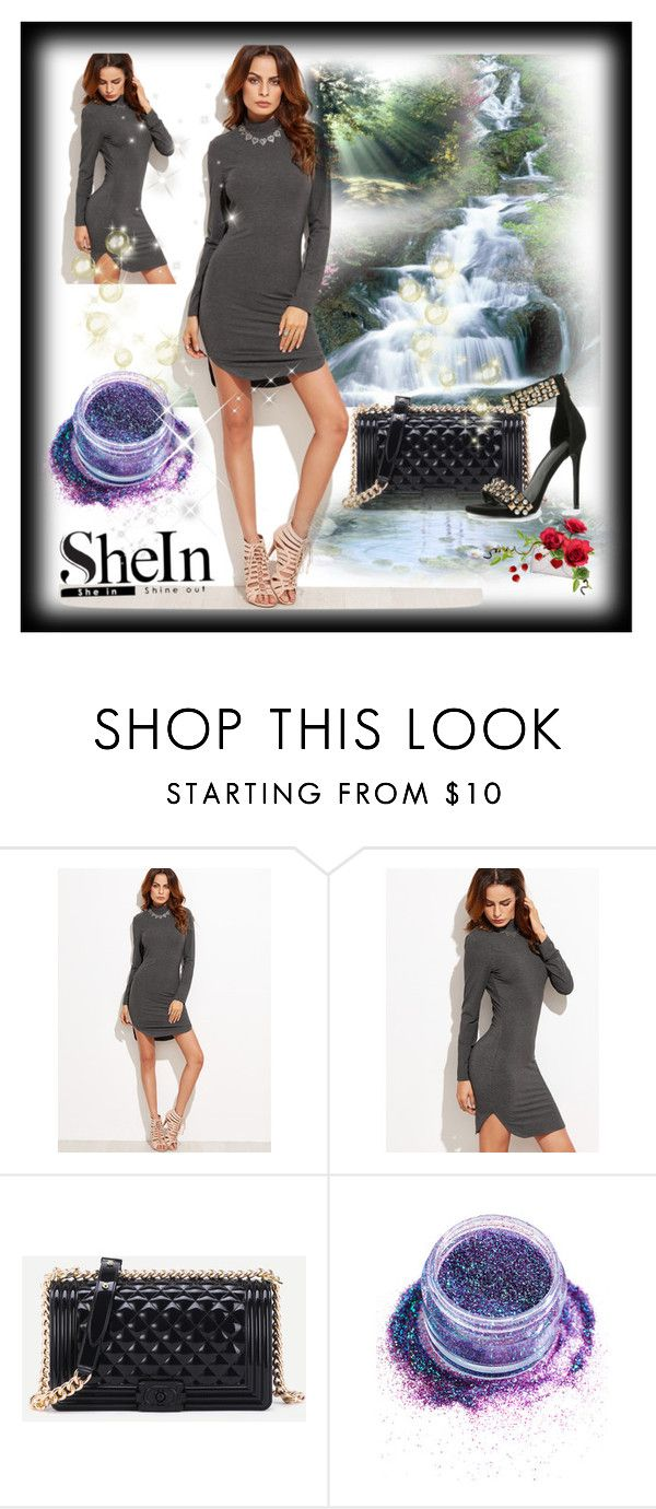 """Shein 8 / I"" by ozil1982 ❤ liked on Polyvore featuring In Your Dreams"