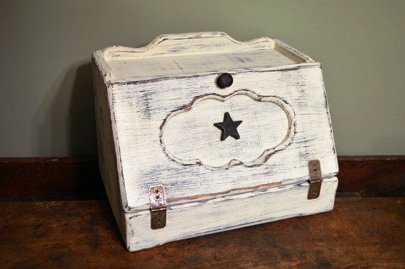 Primitive Breadbox/Charging Station by on