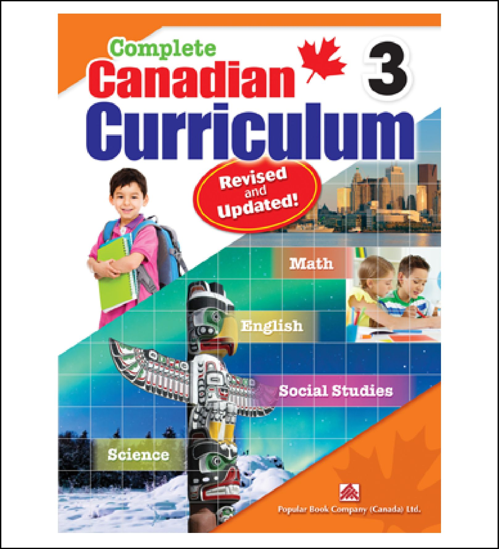 Workbook For Kids Complete Canadian Curriculum Grade 3 By Popular Book Company 19 95 Curriculum Social Studies Worksheets Subject And Predicate [ 1779 x 1617 Pixel ]