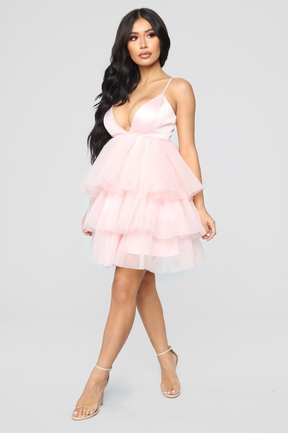 0f079565a59f She Bad Ruffle Dress - Blush | sissy | Fashion, Freakum dress ...