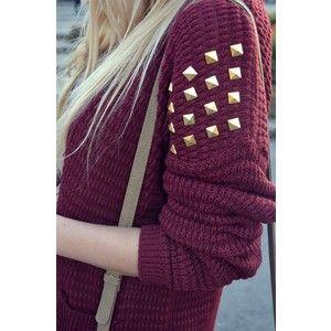 Winter Style #stud #sweater