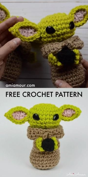Baby Yoda Amigurumi - Free Crochet Pattern