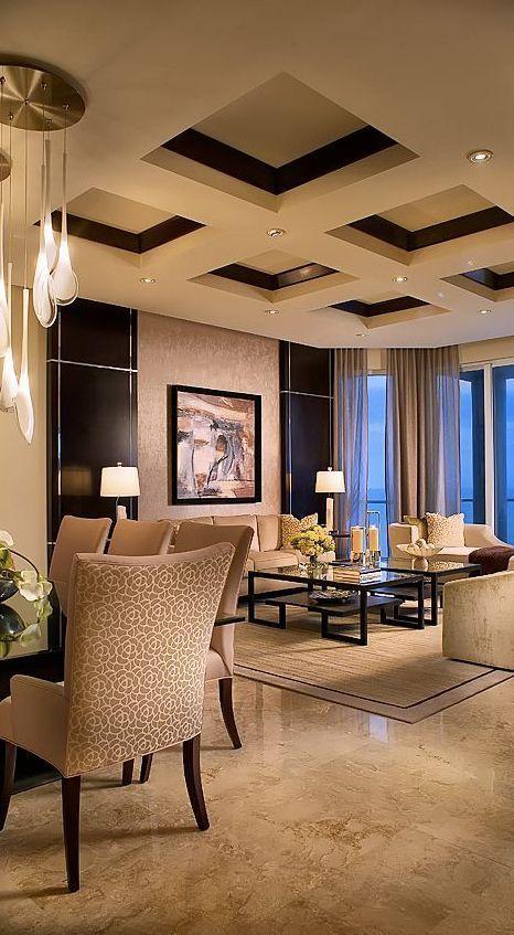 Amazing Modern Apartment Decorating Ideas   False ceiling ...
