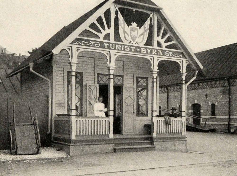 Visby Tourist Bureau in Sweden (1910)