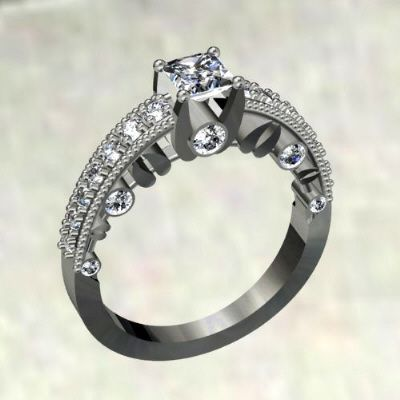 Diamond Deer Wedding Rings Google Search