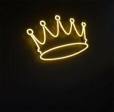 New Crown Lamp Artwork Handmade Acrylic Neon Sign 14