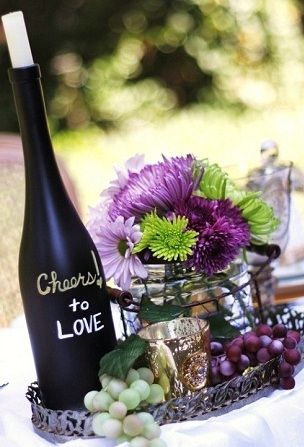ideas for a wine themed wedding or other wine themed parties