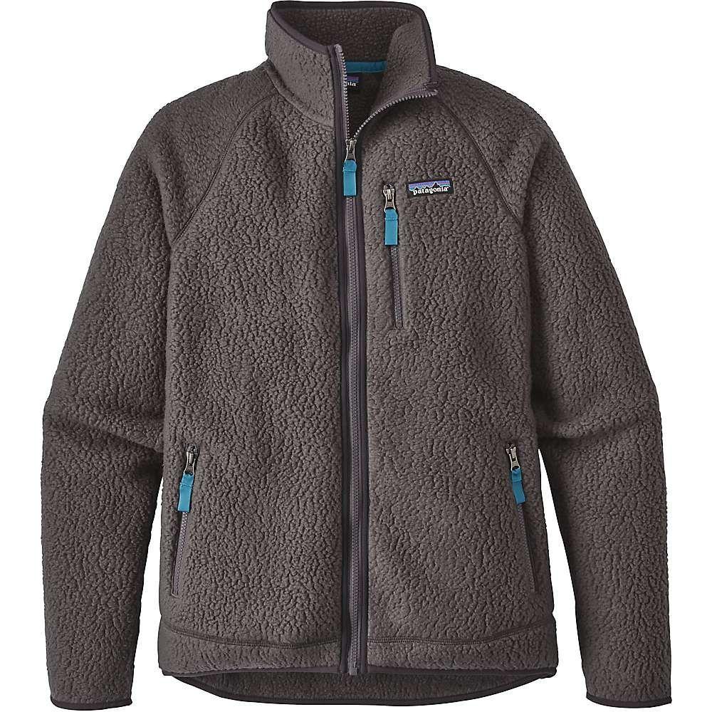 Patagonia menus retro pile jacket medium forge grey products