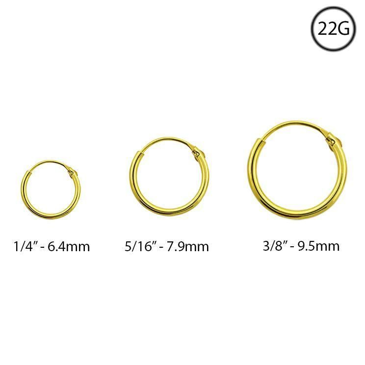 """1 1//4/"""" Double Wire Twisted Hoop Earrings Real 14K Yellow Gold FREE SHIPPING"""