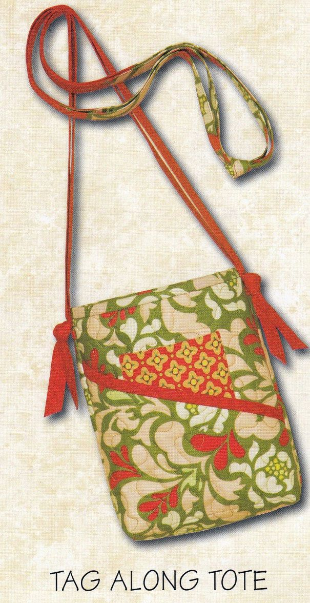 Tag Along Tote sewing pattern from Atkinson Designs