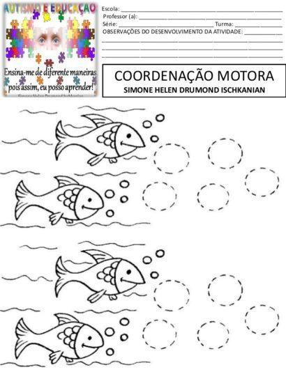 Atividades De Coordenacao Motora Grossa Divertidas Vogais