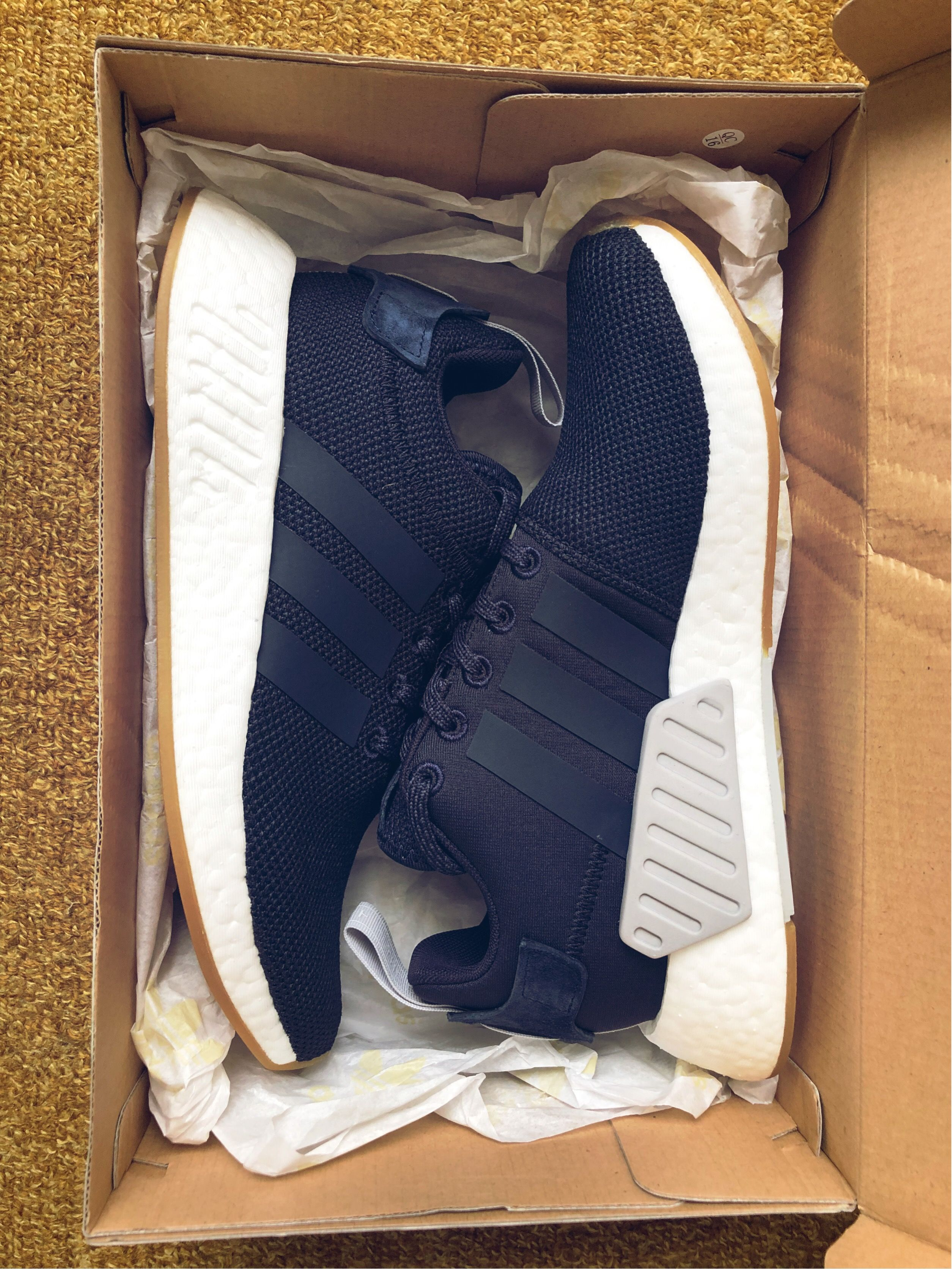 separation shoes 60201 7bafc Adidas NMD R2 Navy Boost sneakers | Shoes | Kicks shoes, Sneakers ...