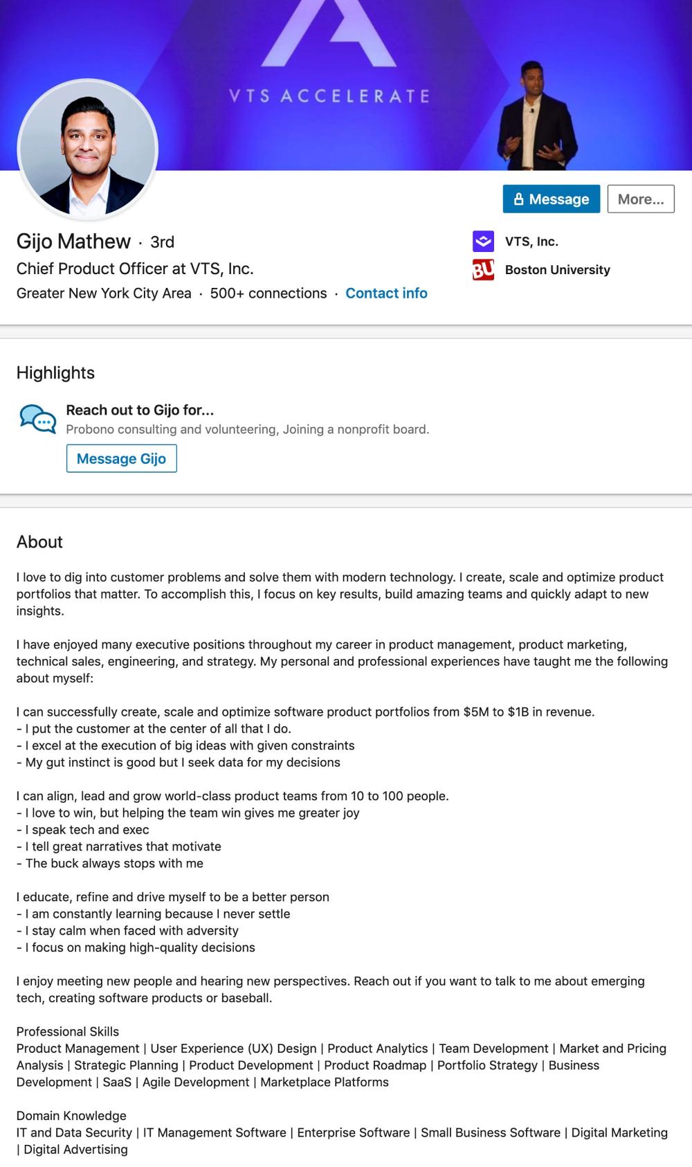 Linkedin View Uploaded Resume