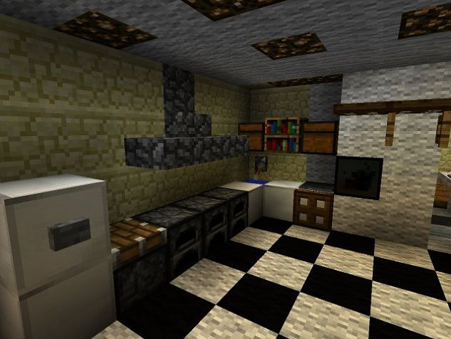 Hodedah Import Kitchen Cabinet The Furniture Blogger Minecraft Kitchen Ideas Minecraft Interior Design Minecraft House Designs