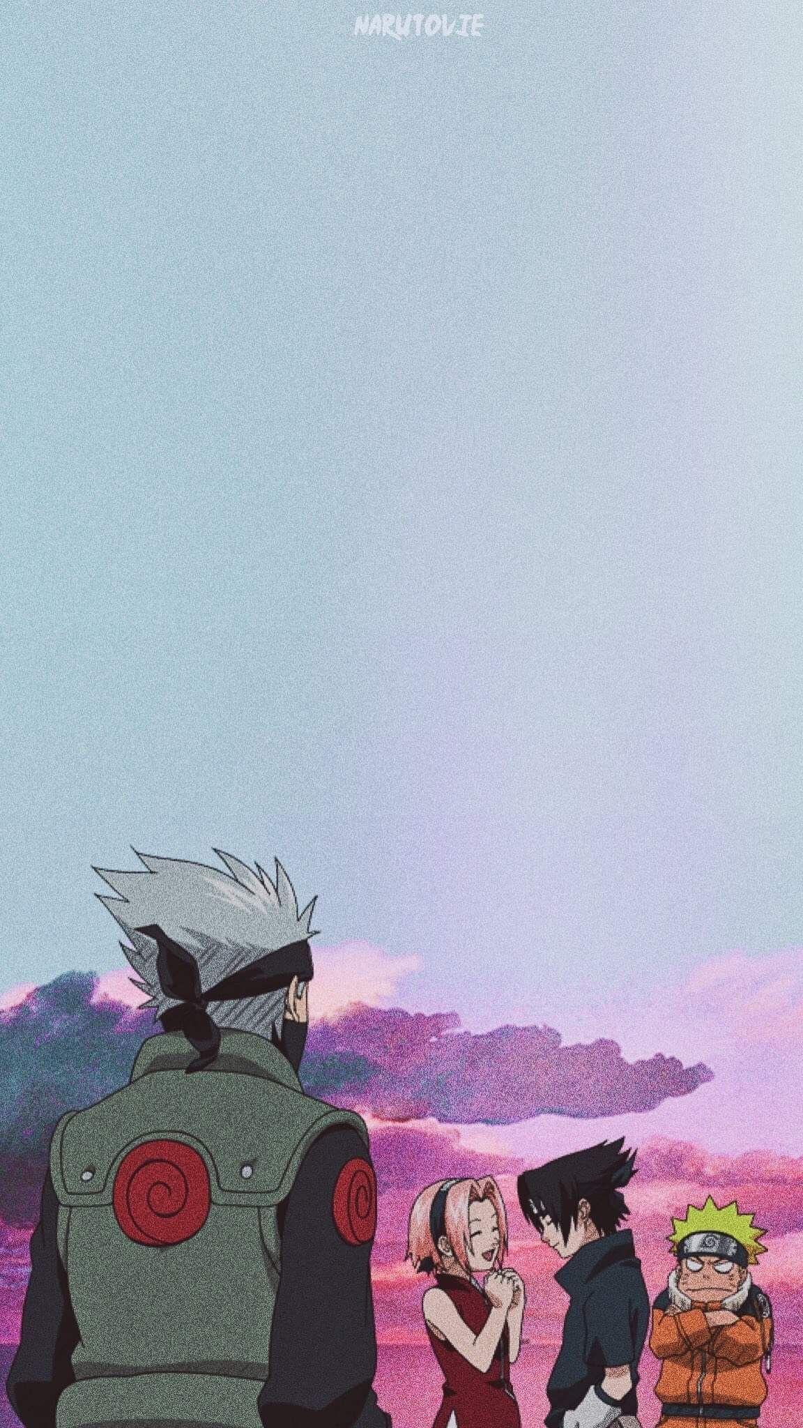 Team7 Wallpaper Narutowallpaper Team7 Wallpaper Wallpaper Naruto Shippuden Anime Wallpaper Naruto Art