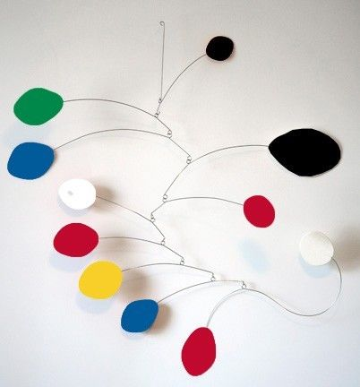 MOD Art Mobile Sculpture  retro hip cool Calder by AtomicMobiles, $120.00