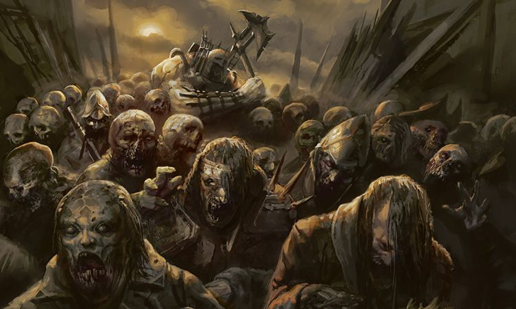 Image result for zombie apocalypse art mtg