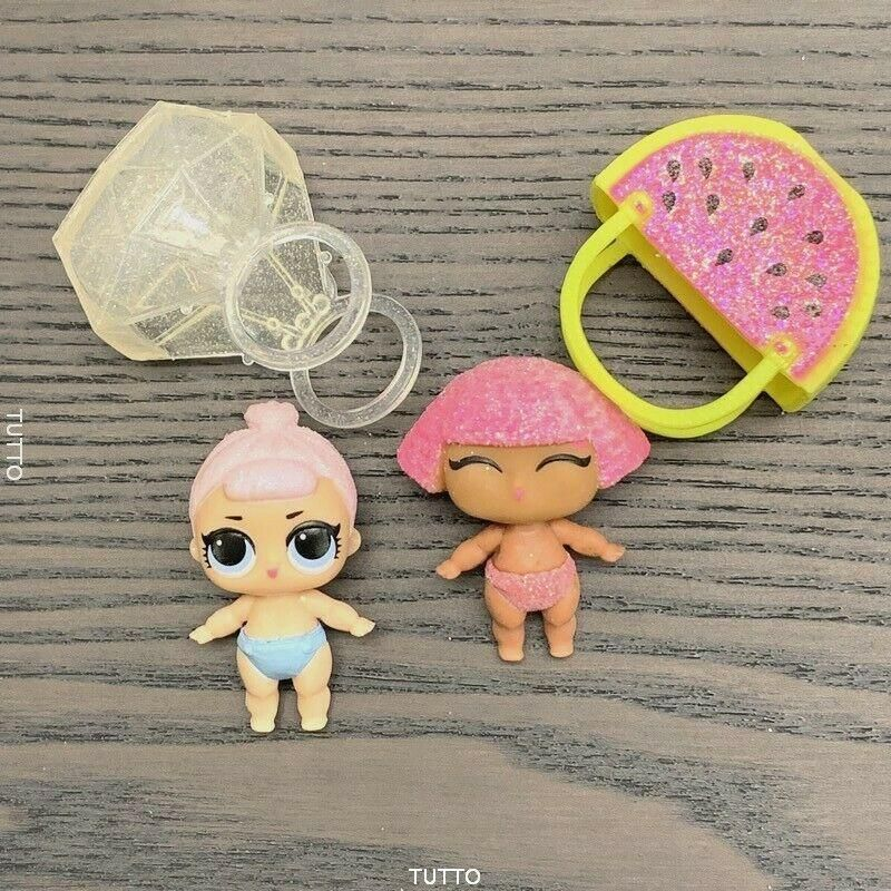 Lot 2 LOL Surprise Dolls Glitter Crystal Queen /& Lil crystal queen baby girl Toy