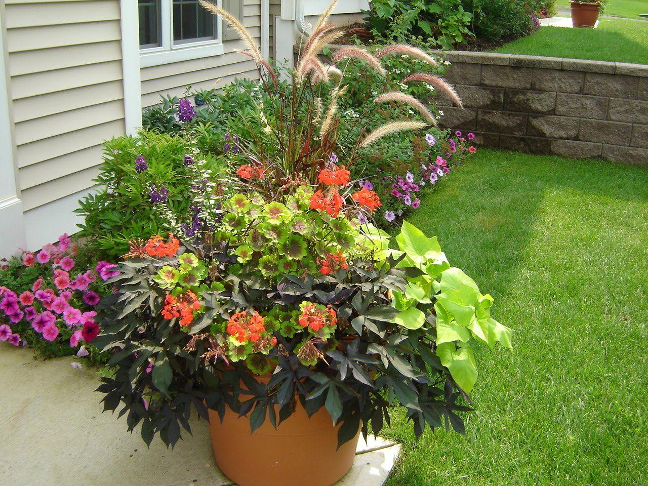 outdoor flower pot ideas cubannielinks garden ideas
