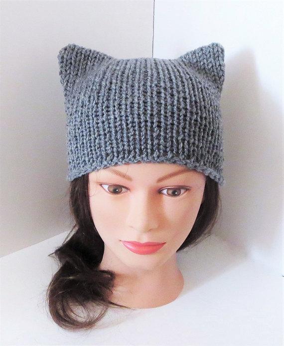 aacf5fddab8 Gray Cat Hats