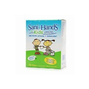 Sani Hands Kids Instant Hand Sanitizer Wipes 24 Count By Sani