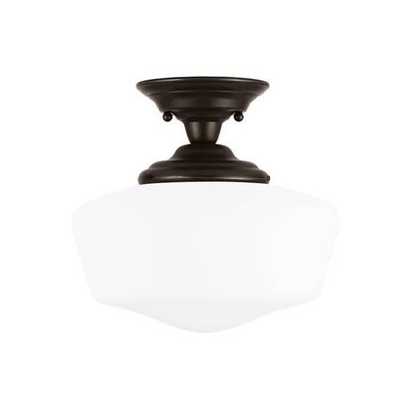 FREE SHIPPING. Academy Semi Flush  Sea Gull Lighting 77436-782