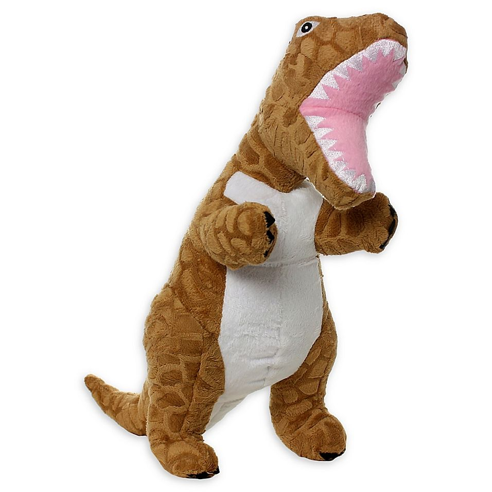 Mighty Dinosaur T Rex Dog Toy Brown Dog Toys Toys Pet Toys