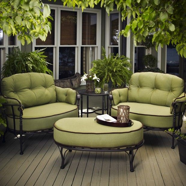 Shop For Meadowcraft Athens Cuddle Chair, And Other Outdoor/Patio Chair And  A Half At Weinbergeru0027s Furniture And Mattress Showcase In Augusta And Lake  ...