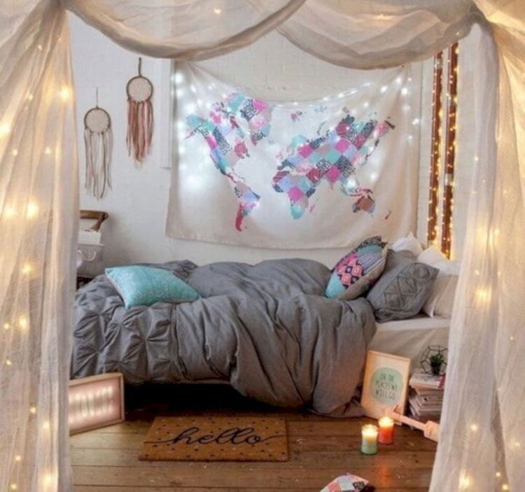 cozy bohemian bedroom with colorful tapestry and unique on unique contemporary bedroom design ideas for more inspiration id=49479