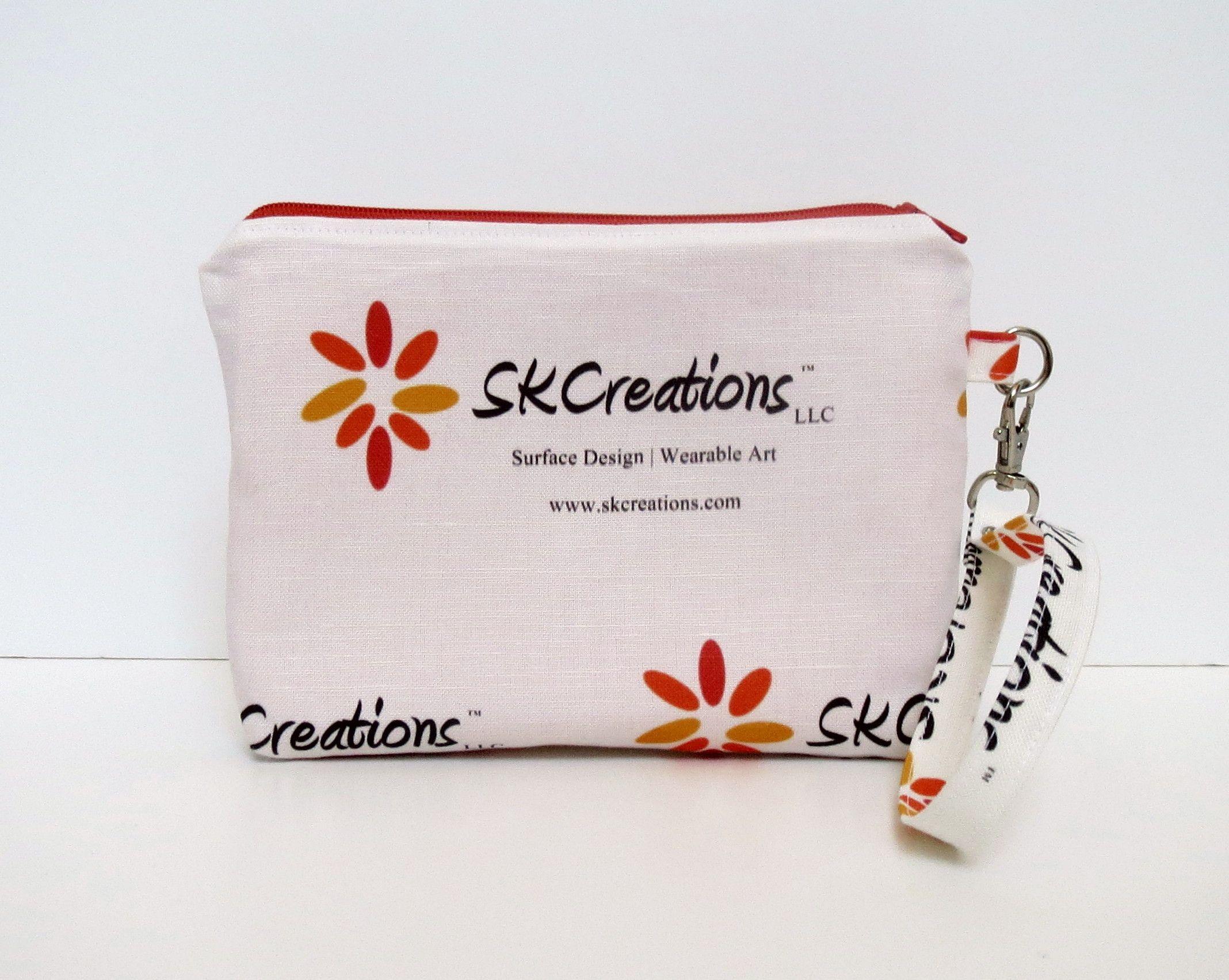 SKCreations, LLC Custom Wristlet Pouch