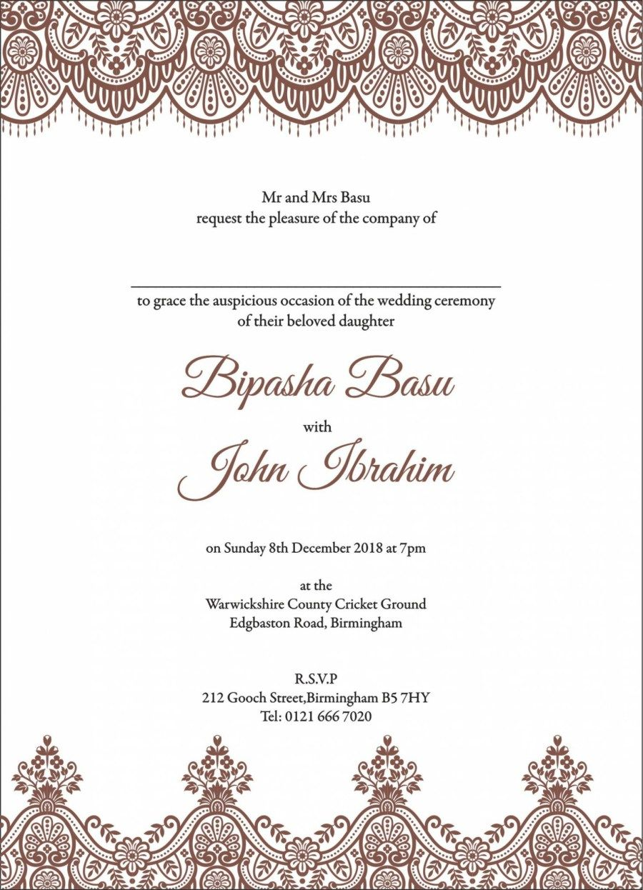 27 Brilliant Picture Of Muslim Wedding Invitations Denchaihosp Com Hobby Lobby Wedding Invitations Pakistani Wedding Invitations Muslim Wedding Cards