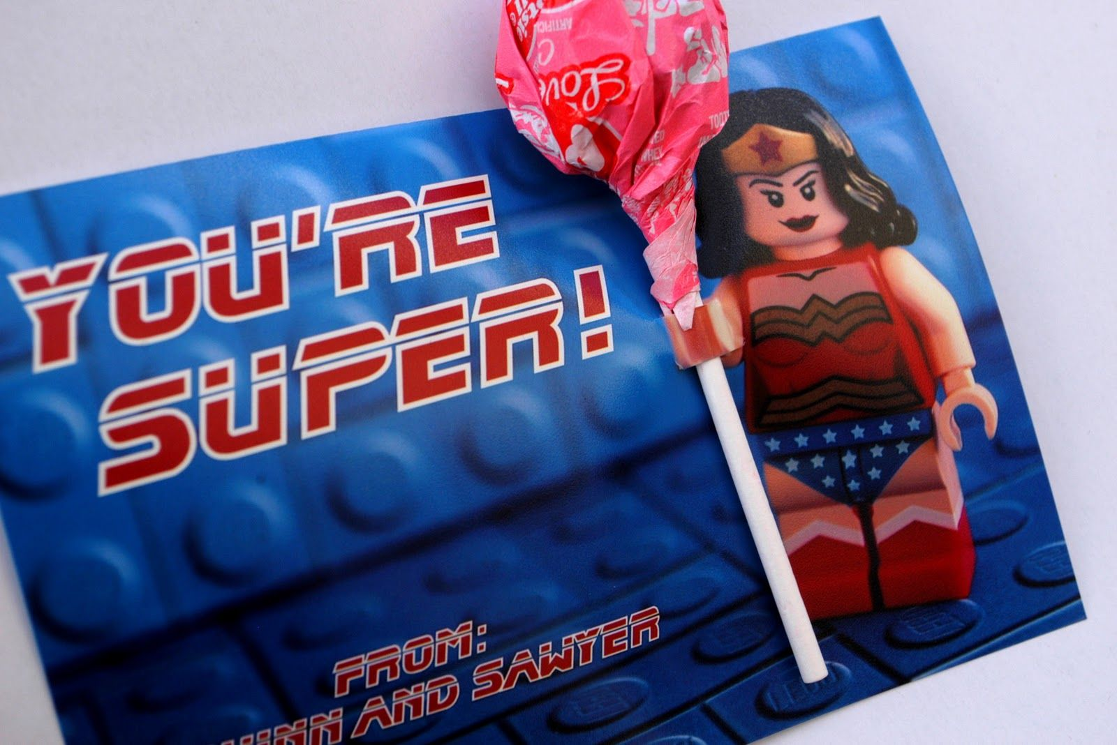 """The Boy Trifecta: """"You're Super"""" Valentines"""