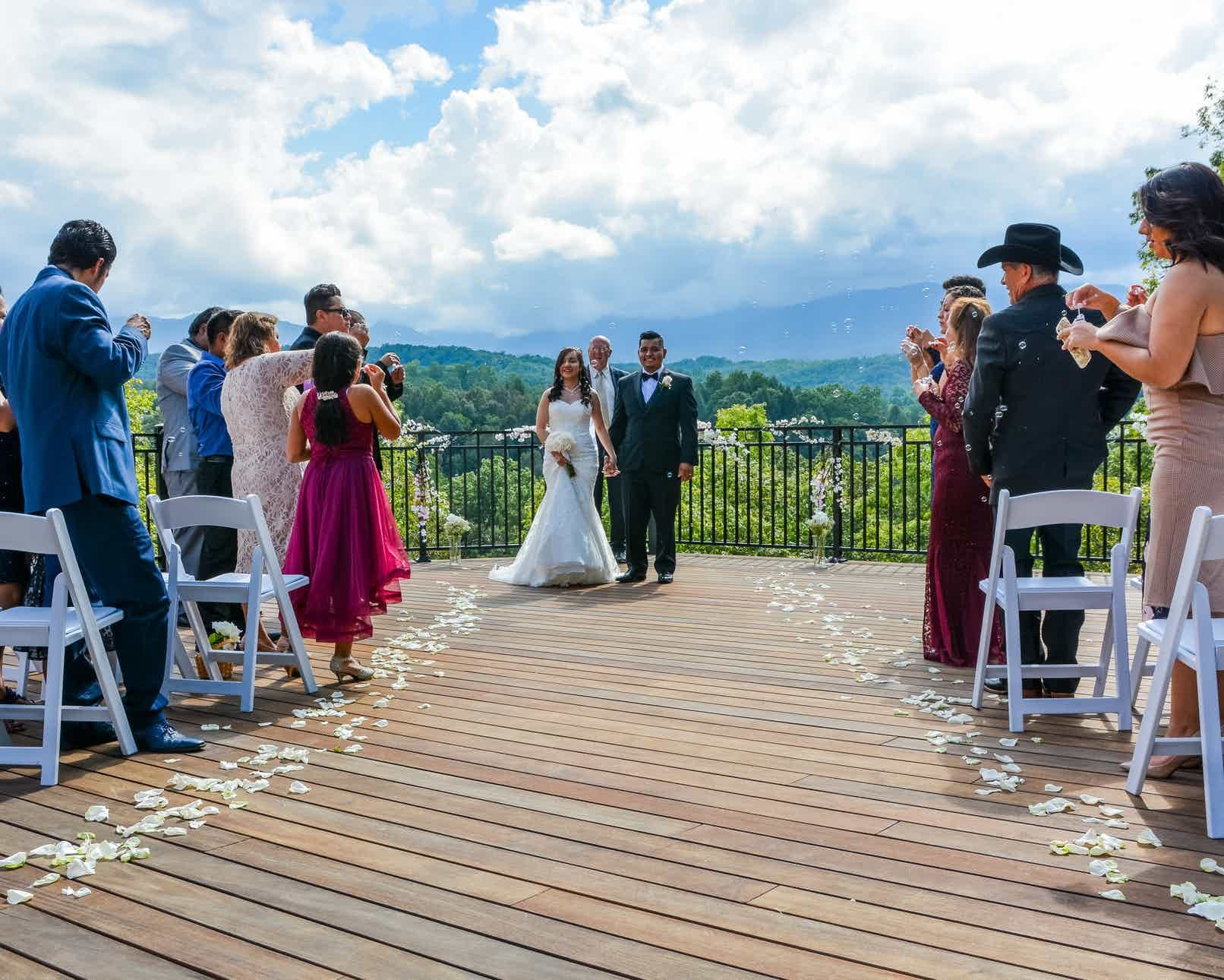 Above the mist weddings weddings knoxville east tennessee