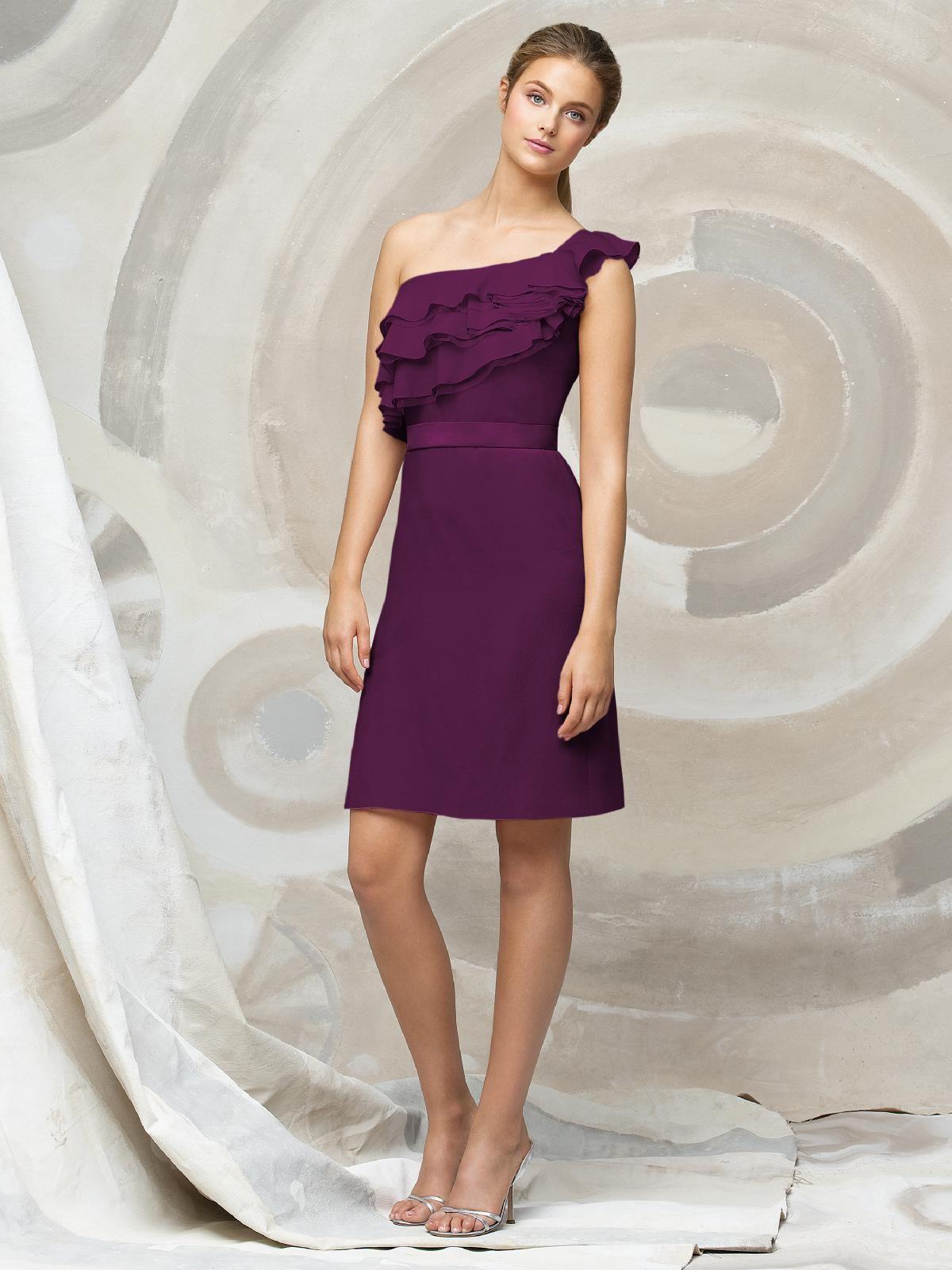 Lela Rose LR123 in wild berry | Bridesmaid Dresses | Pinterest