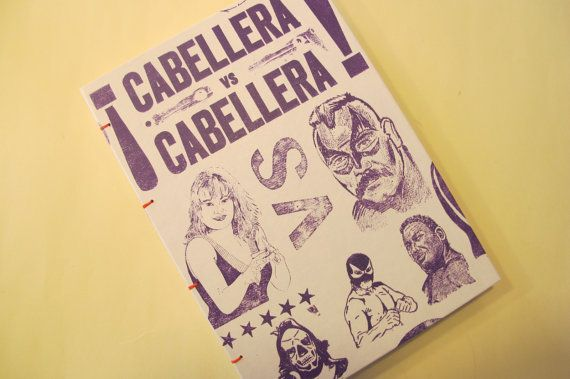 Lucha Libre Journal Notebook