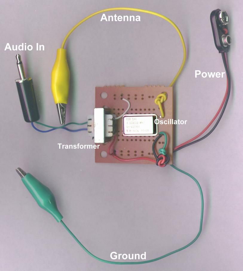 chapter 4 radio build a very simple am radio transmitterchapter 4 radio build a very simple am radio transmitter