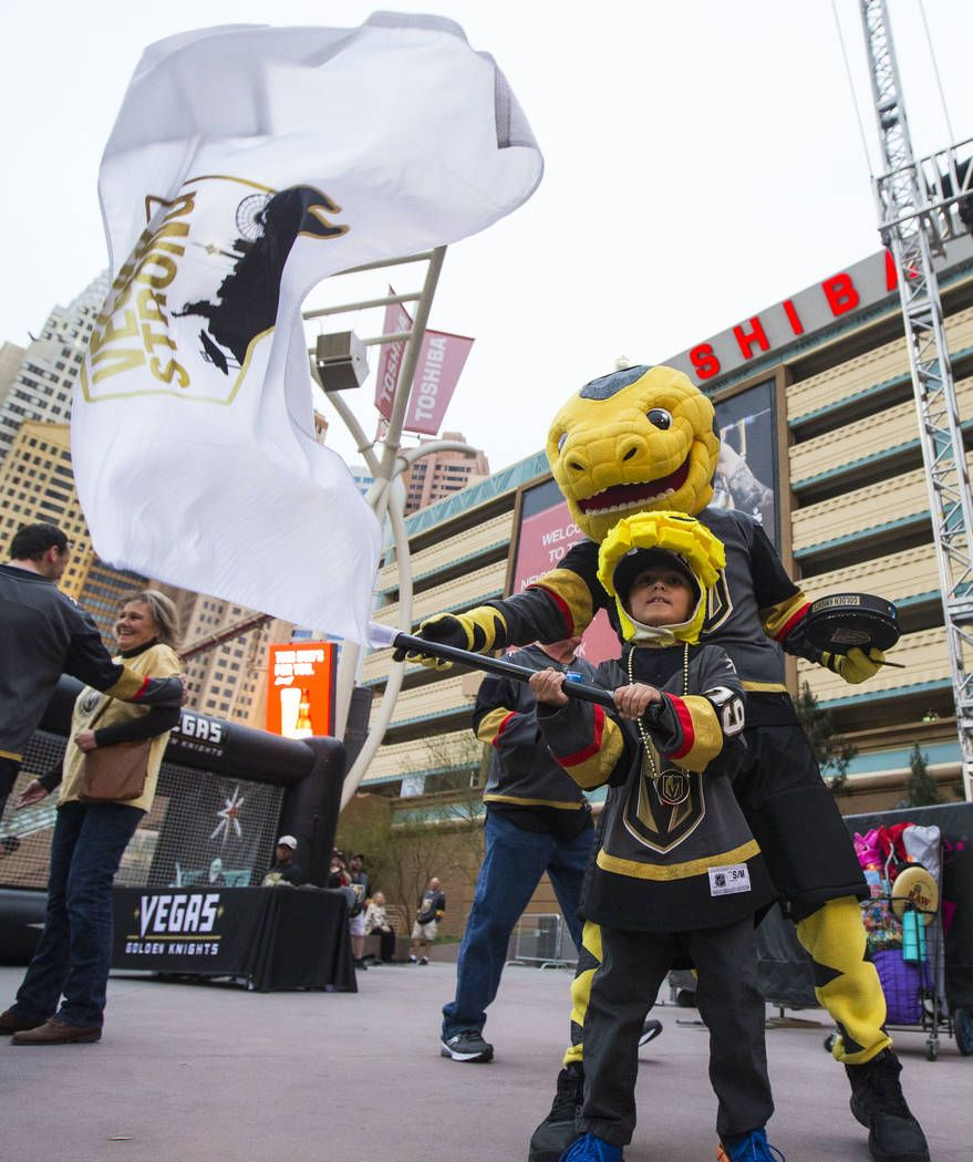 Man Inside Golden Knights Mascot Chance Loves His Job Golden