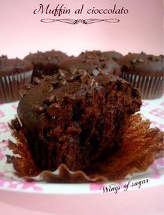 muffin al cioccolato interno - wings of sugar blog