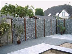 Stenen schutting loungeset 2017 for Tuin decoratie met stenen