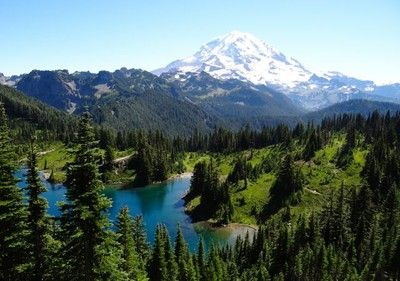 Tolmie Peak Lookout - Eunice Lake (Mt. Rainier)