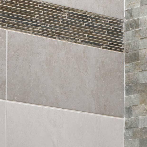 carrelage murs yukon pour salle de bains lapeyre dco pinterest - Verriere Salle De Bain Lapeyre