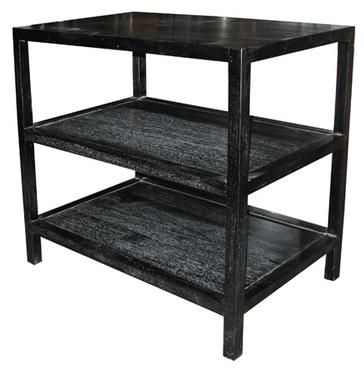 Auden 3 Tier Side Table Mecox Gardens Vintage Side Table Black Side Table Side Table