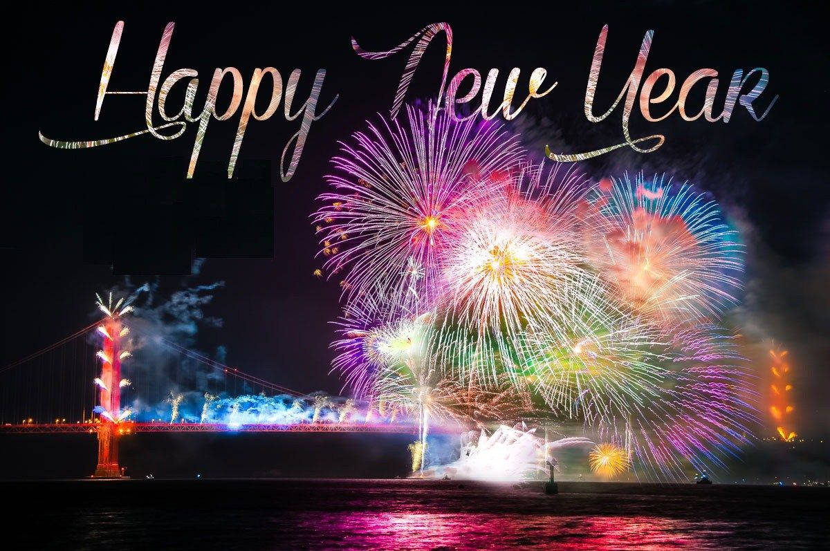Happy New Year Fireworks Wallpaper Happy New Year Fireworks New