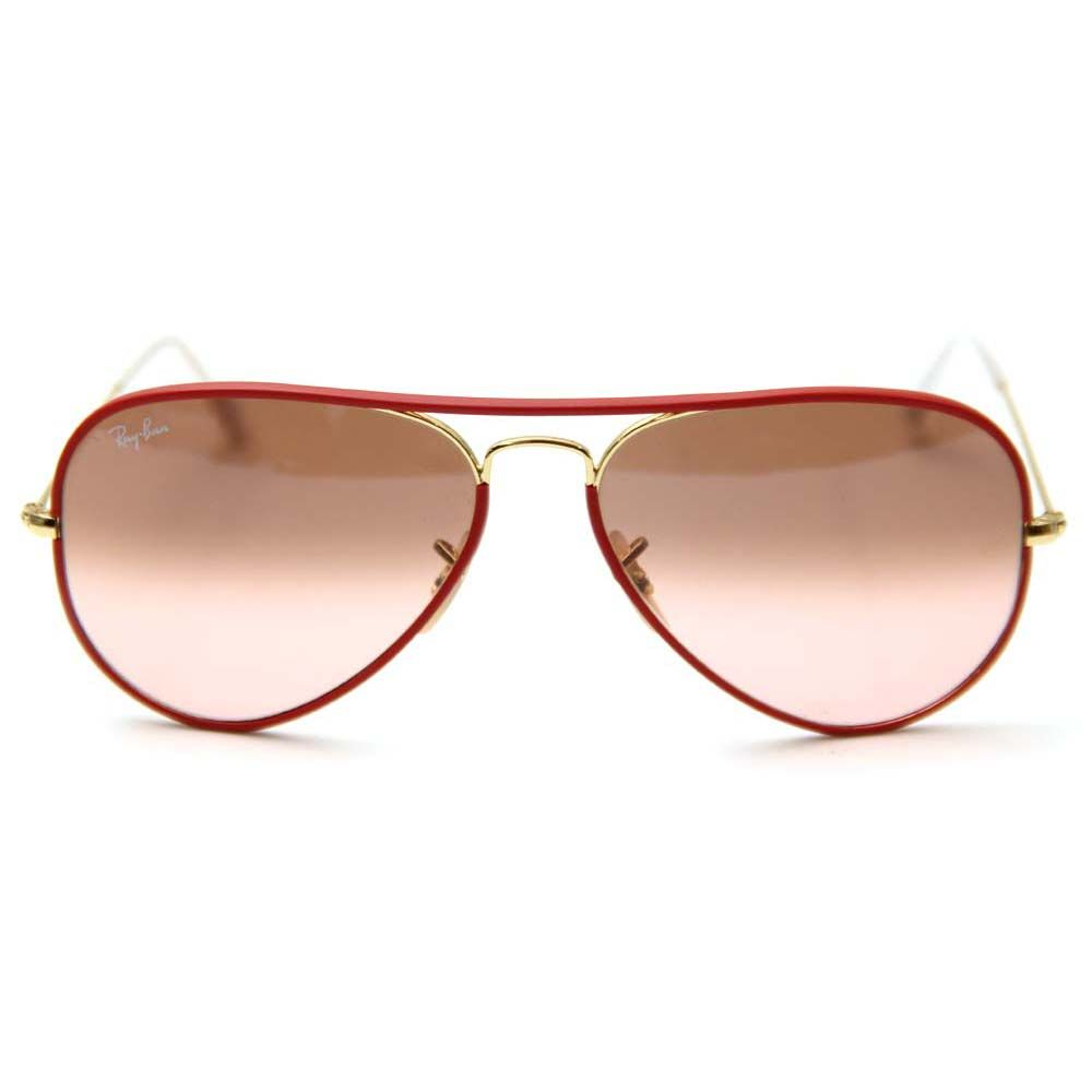 8d3cb11698 Ray-Ban Aviators Full Color in Red